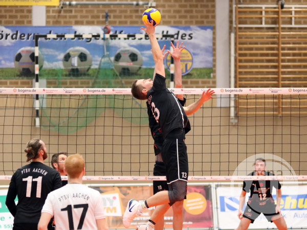 Tebu Volleys 3 1 PTSV Aachen  18